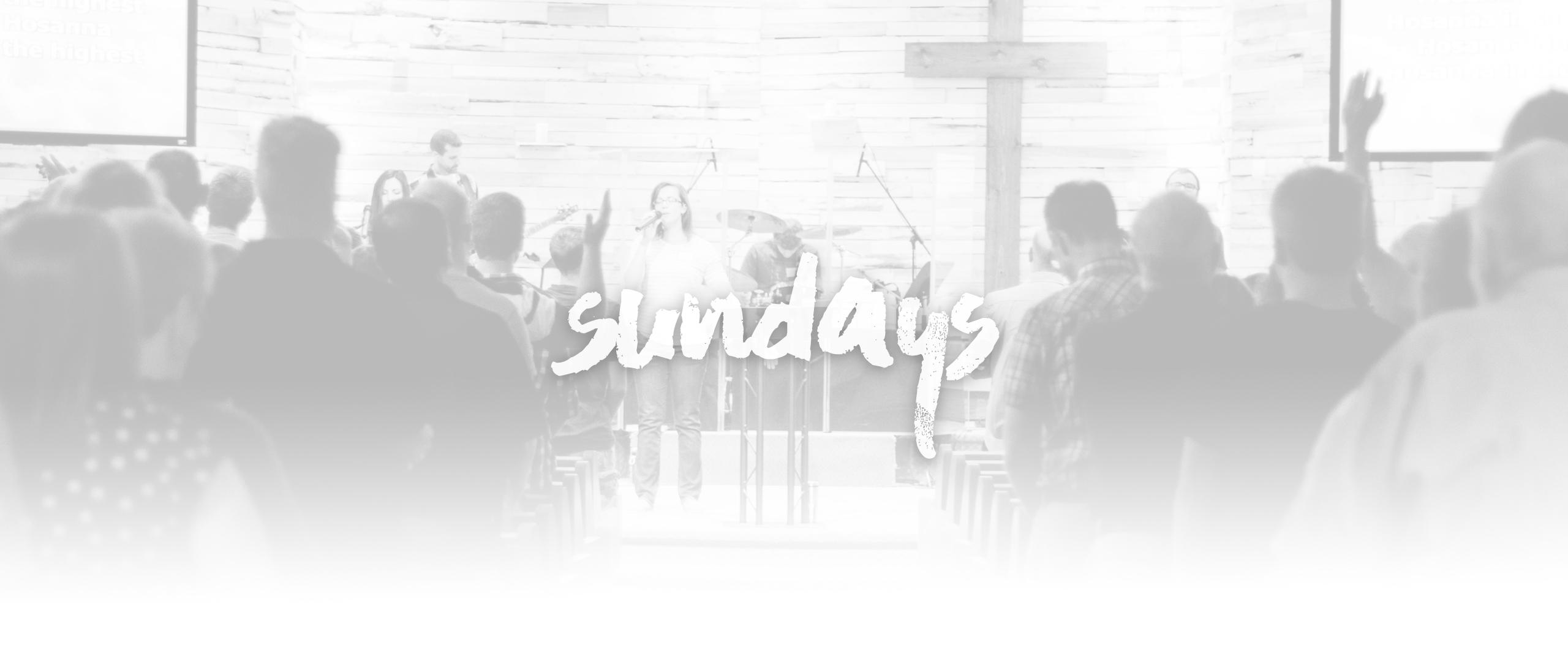 JOIN US AT 9 OR 11AM! Find Out More